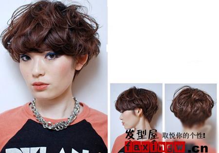 5款最受短发女生追捧的蘑菇头发型图片