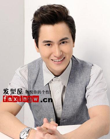 2013流行的男士短发发型及名称 清爽露额正当红