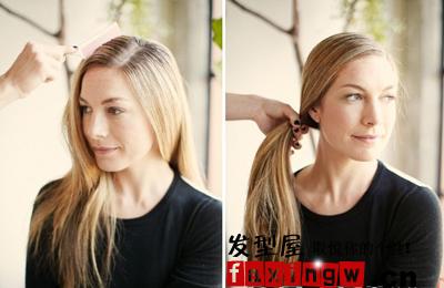 复古丝巾编发 绑出完美的时尚发型