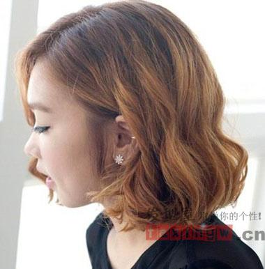 酷感发型百科短发直发v发型一样有型-女生教短发烫发灰图片