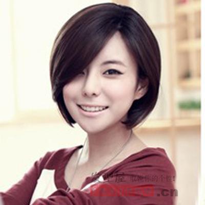 2013最新时尚清新短发发型图片 彰显女生青春活力
