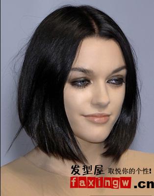 6款发型设计 让你脸型更精致图片