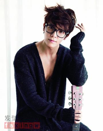 年韩国盛行的男生烟花烫发型今天可谓是不得不说,蓬松感的男生烫发图片