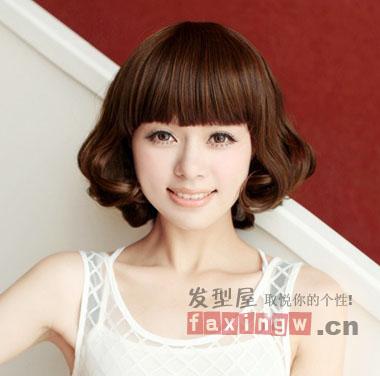2013最流行的女生短发发型 让你永不落伍