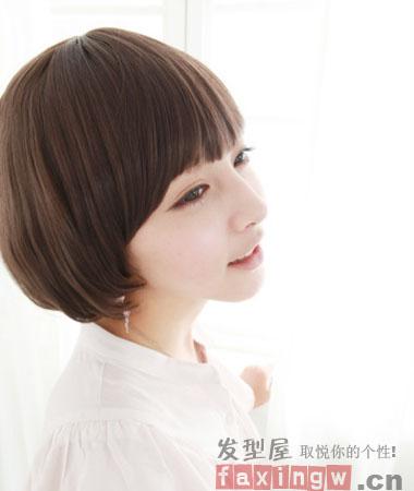 2013夏季女生好看的短发造型
