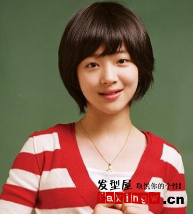 2013年流行女生短发发型 短发女生可爱清纯