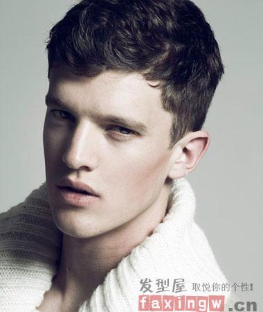 2013欧美流行男士短发发型设计 阳刚硬汉更迷人