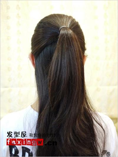 淑女范麻花辫盘发发型 简单盘发图解教程图片