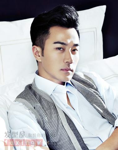 刘恺威优雅绅士风短发 诠释风度男人魅力高清图片