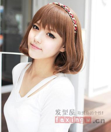 网罗最新韩国女生短发发型 酷夏必备清凉发型图片