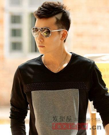 2013男生最爱的潮流短发发型 型男范儿走起
