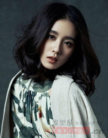刘诗诗2014开年新发型 短发梨花头妩媚清新图片