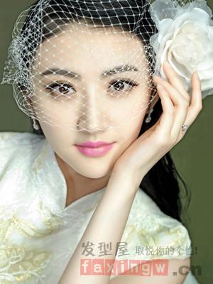 韩国经典影楼新娘发型精选 气质优雅做新娘