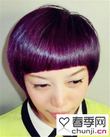 女生个性染发发型 让你展现自我时尚观图片