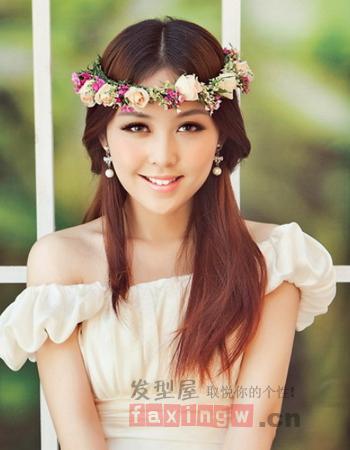 矮个子新娘适合什么样的发型 巧用造型增加美感