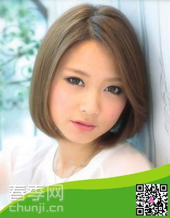 大脸女生2014年适合的流行发型图片图片