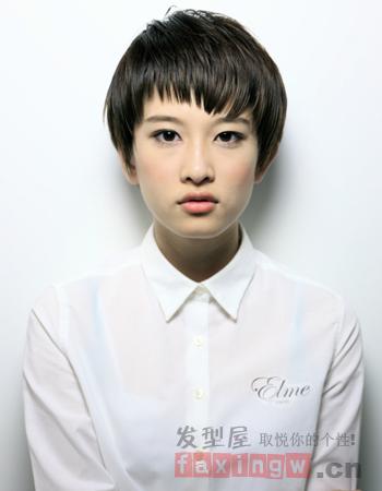 女生圆脸发型设计 打造最上镜小脸