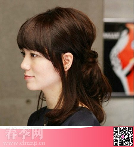 对于ol女性而言,一款成熟稳重的发型是最好的职场气质体现.