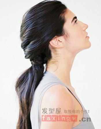 马尾发型怎么扎好看 气质马尾教你打造图片