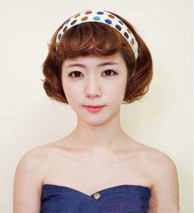 春季韩式中短发型抢先看减龄又美颜