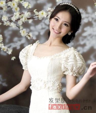2014最全影楼韩式新娘造型 高贵气质化身女神