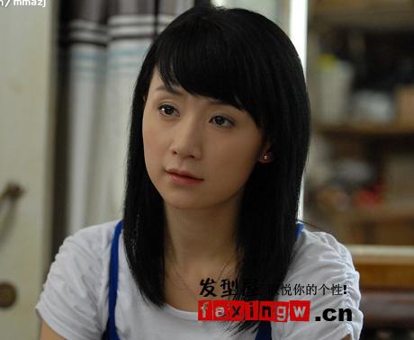 《媳妇是怎样炼成的》姚芊羽清新甜美发型秀图片