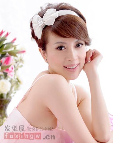 短发长脸适合的网名女生专属刘海塑巴掌脸-的文艺发型女生图片