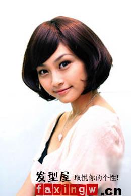 女生发型设计与脸型最佳搭配图片