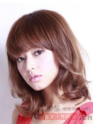 2014最新女生发型 潮流烫染彰显时尚