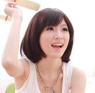 夏季中短发发型清爽减龄超自然