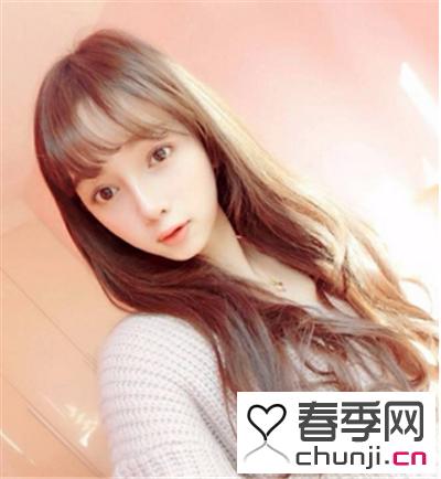 最修颜的刘海 韩式空气感刘海变身甜美可爱女神范