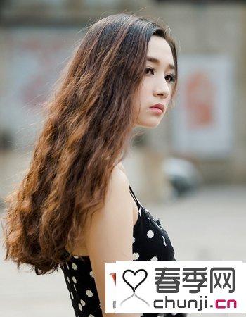 时尚长发女生头像 时尚长发发型图片女