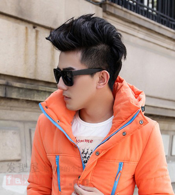 2013最新男生冬季发型大全 潮男必备 高清图片