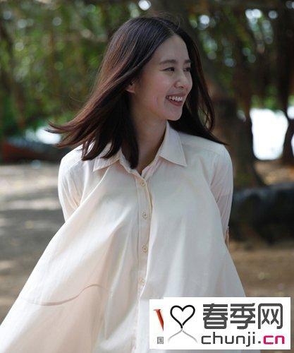 韩国美女发型图片 美女短发发型图片