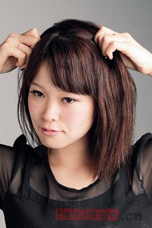 简单短发单编发diy 短发也可发很可爱