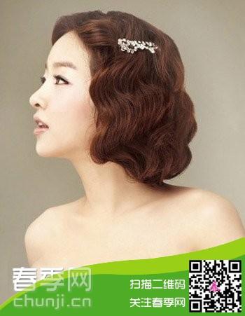 2014夏季新娘发型结婚季选新娘美发图片