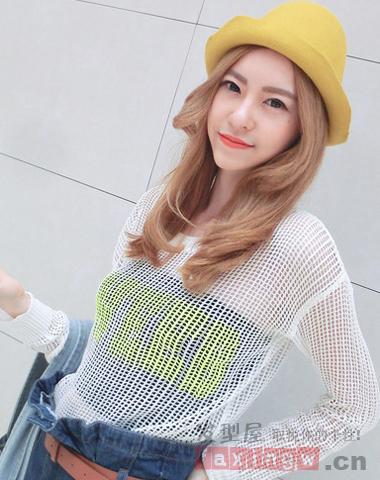 韩式最新中长发烫发 时尚甜美不俗气