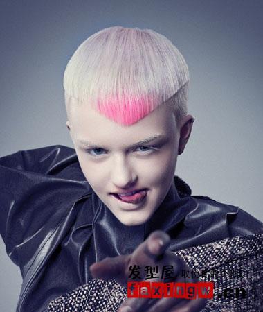2013夏季潮流染发颜色大全 时尚糖果色染发图片