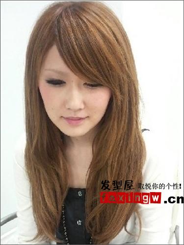长发扎出好看的麻花公主系绿色辫编发di发型的头发染其他颜色图片