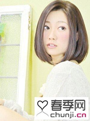 女生中短波波头发型图片 甜美修颜必备