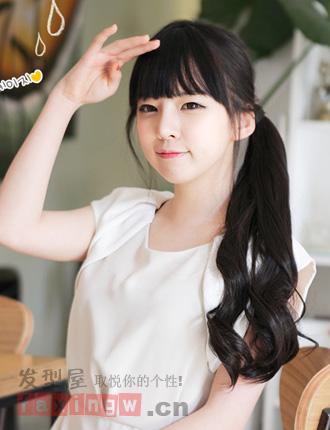 分类导航 生活百科 发型大全 女生发型 > 最受欢迎的韩国女高中生发型