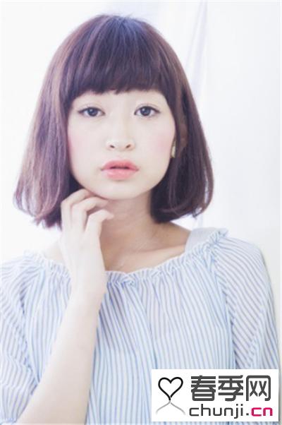 短发女生直发发型 带来夏季小清新图片