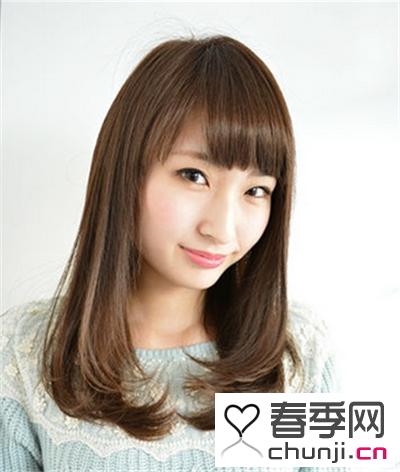 不同脸型搭配不同发型 可爱梨花头发型修颜十足
