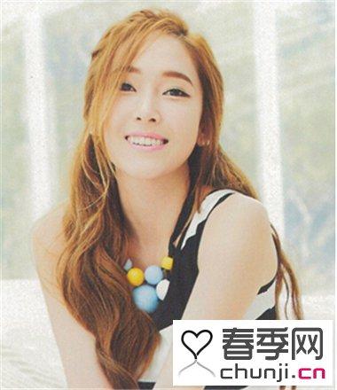 女生简单韩式可爱扎发