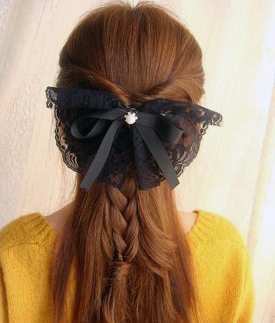 夏季中长发发型扎法 化身夏日清爽淑女图片