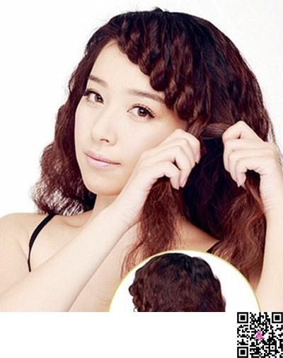 超简单韩式编发 彰显气质发型