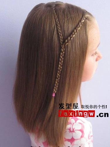 中长发春日新扎法 简单几步打造波西米亚绝美发型