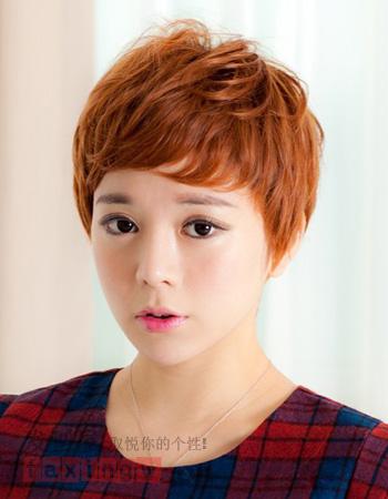 韩式短发发型 瞬间减龄瘦脸