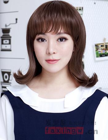 韩国时尚气质潮流头饰发型简单打造-女生教百科古代发型美女v时尚图片