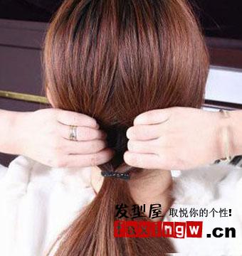一分钟韩式编发步骤 适合懒人上班族的发型扎法
